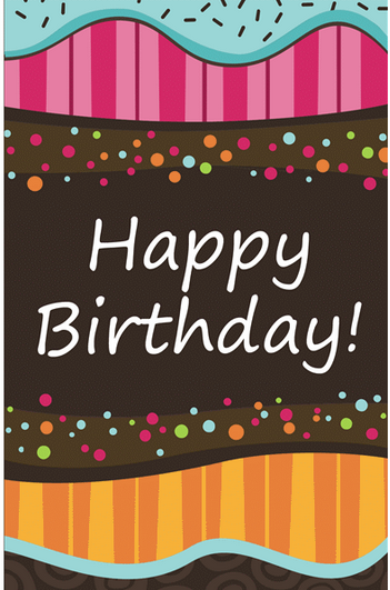 Free Birthday Card Templates Word  Free Birthday Card Template Word