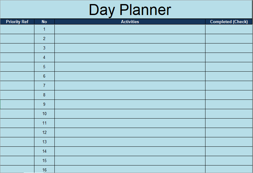 Daily To Do List Template 09