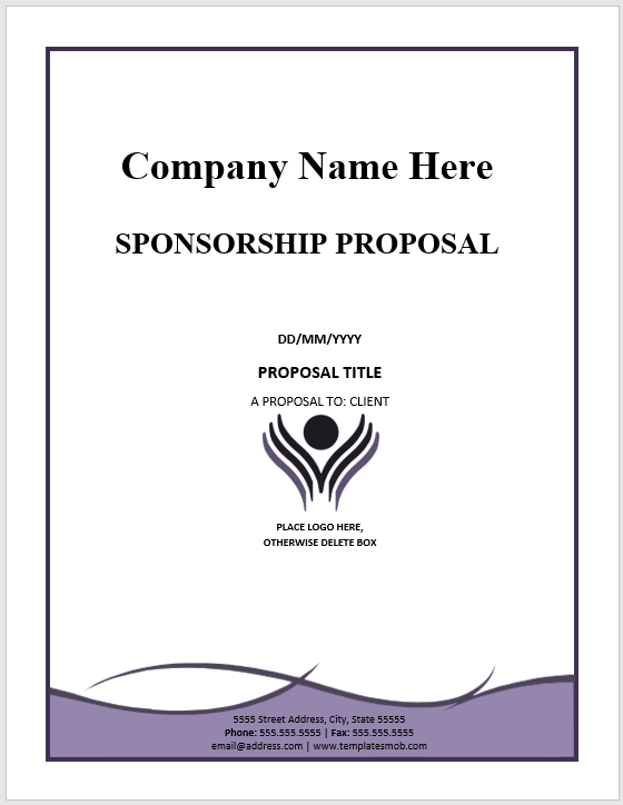 Sponsorship Proposal Template 01