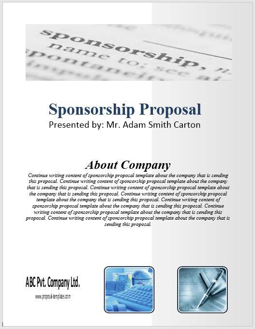 Sponsorship Proposal Template 10