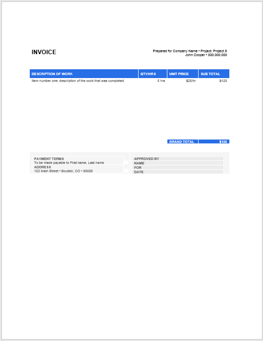 hourly invoice template 02