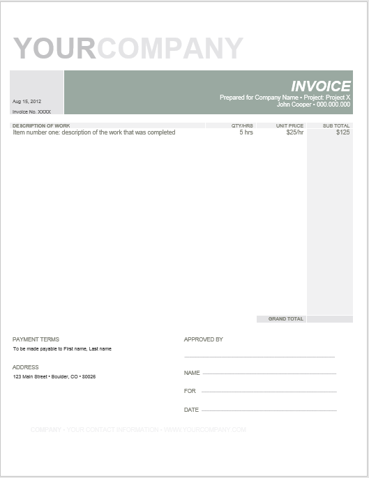 hourly invoice template 04