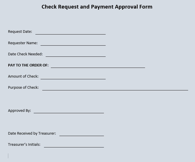 11 Free Cheque Requisition Templates Blue Layouts