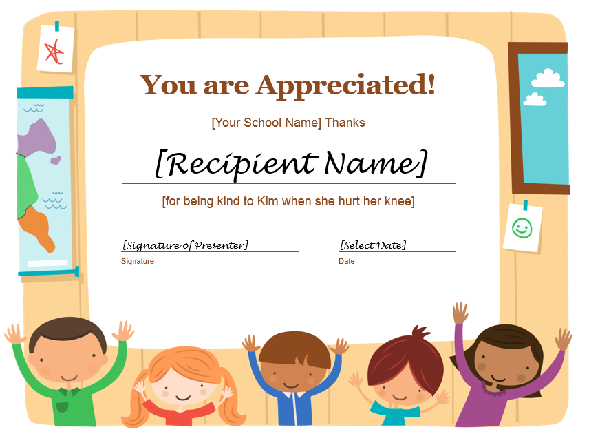 Appreciation Certificate Template 16