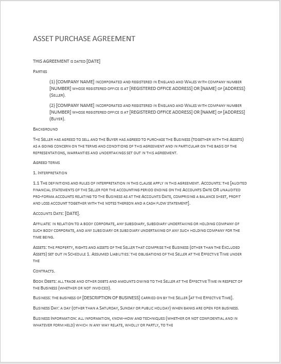 stock purchase agreement template - gerhard-leixl.tk