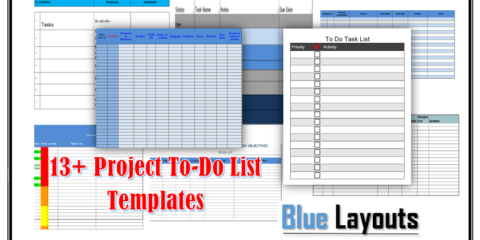 Project To-Do List Templates