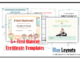 First Haircut Certificate Templates