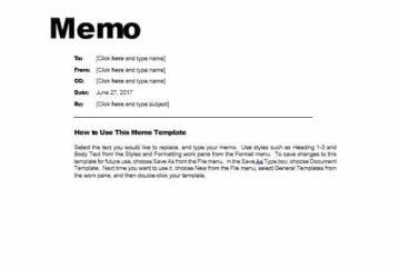 memo template 01