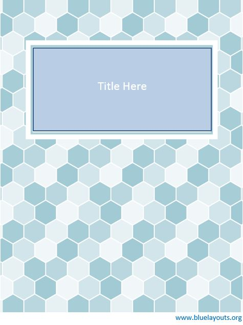 Binder cover template 04