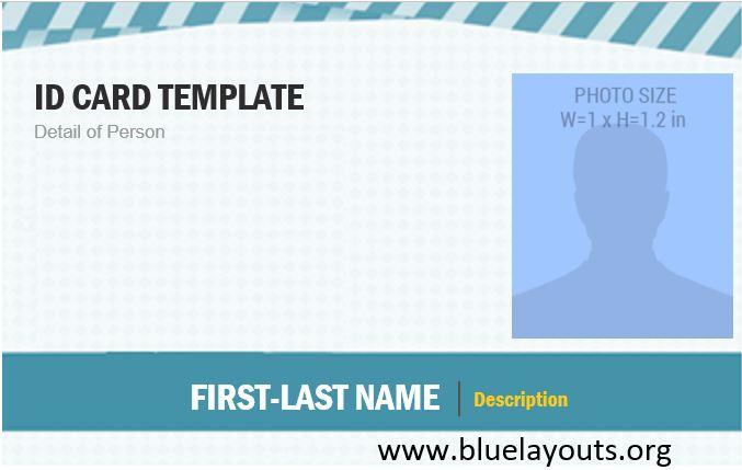 ID Card Template 01