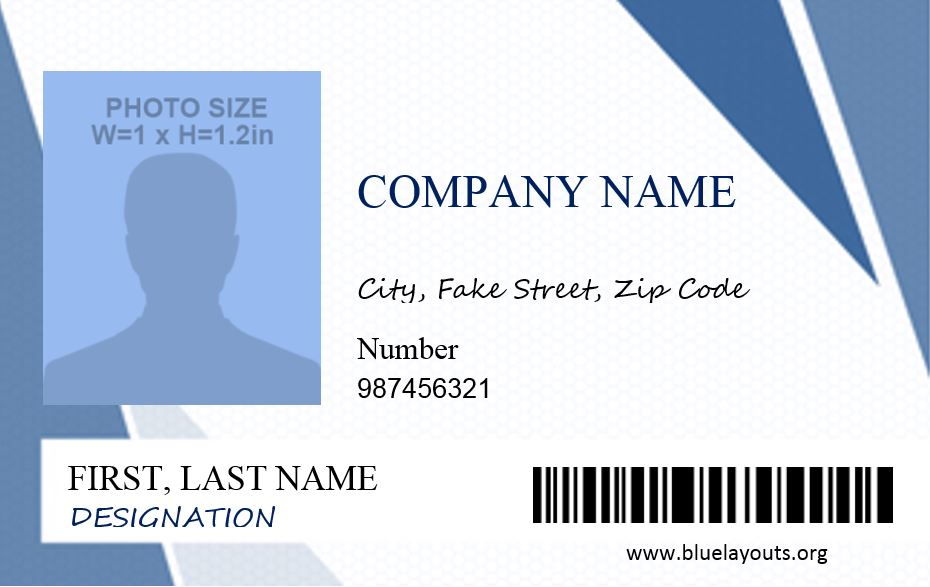 ID Card Template 05