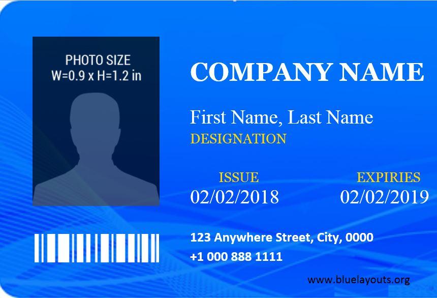 ID Card Template 09