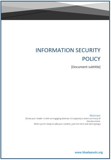 Security Policy 10