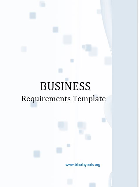 business requirements document template 08