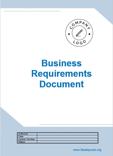 business requirements document template 09