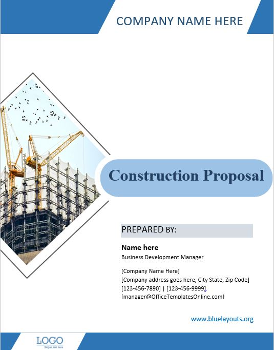 construction proposal template 02
