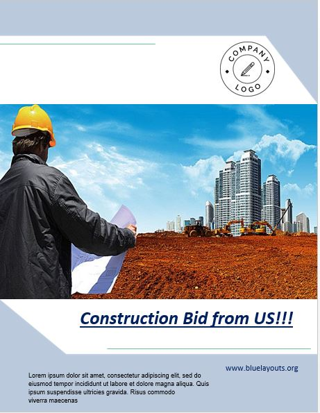 construction proposal template 09