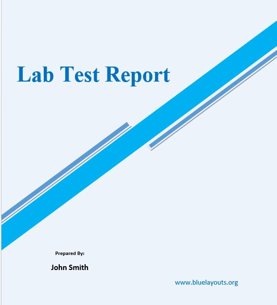 lab report template 03