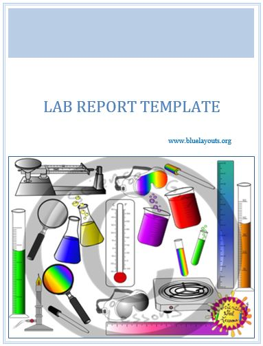 lab report template 04