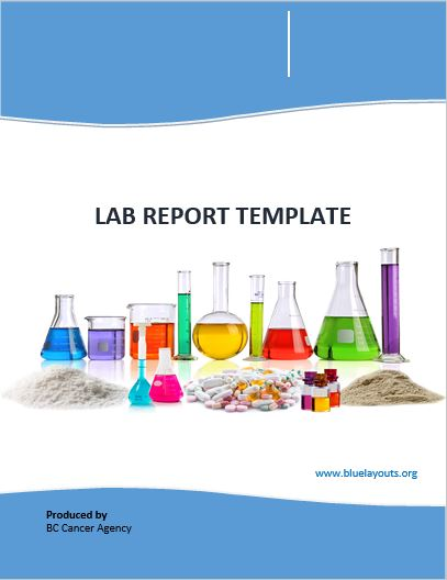 lab report template 06