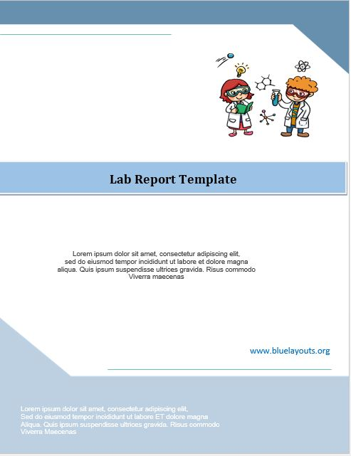 lab report template 07