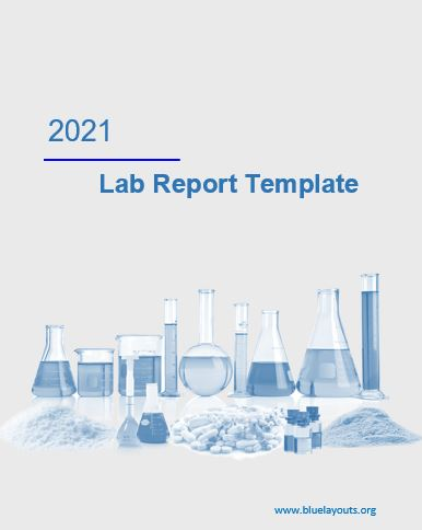 lab report template 09