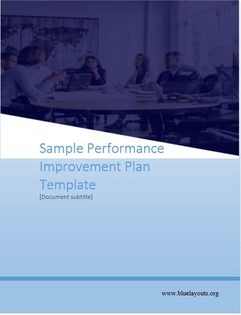 performance improvement plan template 03