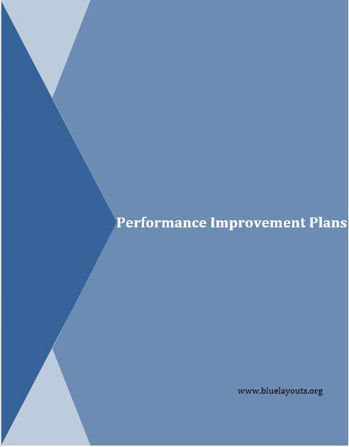 performance improvement plan template 06