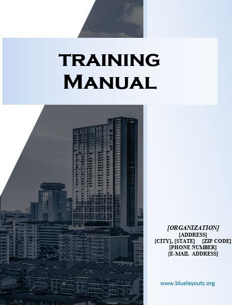 training manual template 02