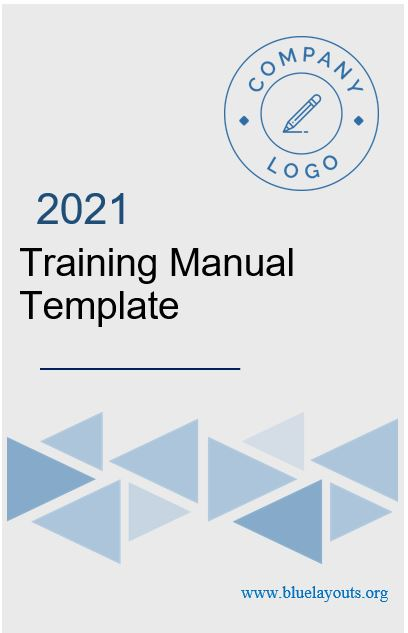 training manual template 03