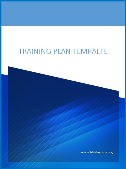 training manual template 06
